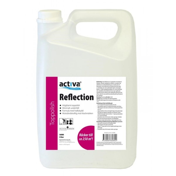 Activa Reflection Golvpolish Blank 5L