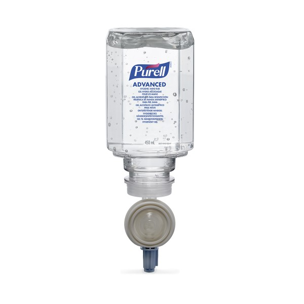 PURELL ES Handsprit Advanced 450ml refill 6st/krt